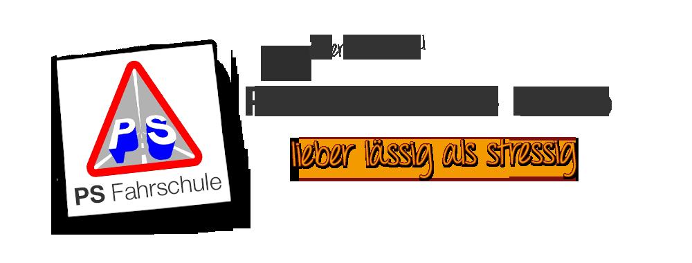 PS Fahrschule Banner